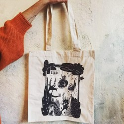Wild Forest Tote Bag